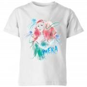 Aquaman Mera kinder t-shirt - Wit - 5-6 Years - Wit