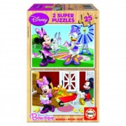 Educa Disney Minnie egér fa puzzle, 2x25 darabos