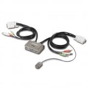 Switch KVM Edimax EK-2U2CA, nr de calculatoare conectate: 2, rezolutie: 1920x1440