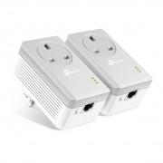 TP-LINK TL-PA4010P KIT V3 100Mbit/s Ethernet LAN White 2pc(s) PowerLine network adapter