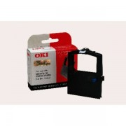 OKI Originale Microline 390 FBD Nastro di nylon (09002310) nero, Contenuto: 2,000,000 caratteri - sostituito Nastro 09002310 per Microline 390FBD
