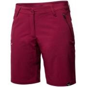 Salewa *Talvena DST - pantaloni corti trekking - donna - Dark Red