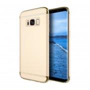 Funda Case Para Samsung Galaxy S8 Plus Protector Carcasa Con Aspecto Cromado Y Textura Satinada - Gold