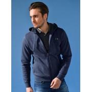 Lacoste Sweat-Jacke Kapuze Lacoste blau