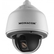 Monacor HDCAM-5090 PTZ-High-Speed-HD-SDI-Dome-Kamera im Außengehäuse