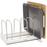 YouCopia StoreMore Adjustable Bakeware Rack Pan Organizer