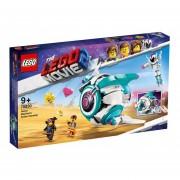 NAVE MORADA LANZA STICKERS - THE LEGO MOVIE 2