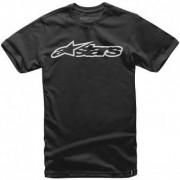 ALPINESTARS Camiseta Alpinestars Classic Blaze Black / White