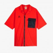 Nike Acg Ss Top For Men In Red - Size Xl