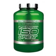 Zero Sugar/Zero Fat Isogreat(Zero Carb Isobest) 2300g eper Scitec Nutrition