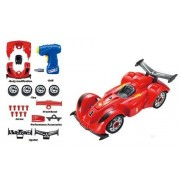 Educational Racing Car & Fun Take Apart Race Car Toy for Kids with 24 Take Apart Pieces, Tool Drill, Lights and Sounds