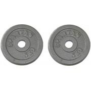 Set greutati olimpice Spartan 2 x 5 Kg