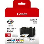 Canon PGI-1500 XL multi (9182B004) bk+c+m+y