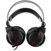 Геймърски слушалки msi immerse gh60 game headset, черни