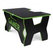 Birou gaming Generic Comfort Gamer2 DS/NE (Black/Green)