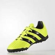 Adidas Chuteira Ace 16.4 TF J - Amarelo Neon & Preta - Adid