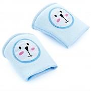 Genunchiere de protectie pentru bebelusi Baby Pad Blue