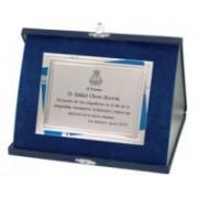 Placi Comemorative Aluminiu cu cutie 18-465