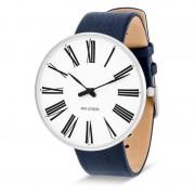 Arne Jacobsen Clocks Armbandsur Roman Vit/blå 46 mm Arne Jacobsen Clocks