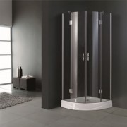 vidaXL Corner Shower Enclosure 80 x 80 cm.