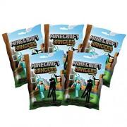 Minecraft - Plastic Figure Hanger Series 2 - 5 PACK LOT (5 random figures)