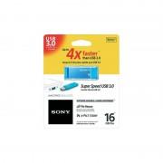 USB DRIVE, 16GB, Sony Microvault, USB3.0, Blue (USM16GXL)