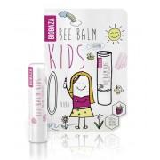 Balsam de buze pentru copii cu zmeura BIOBAZA