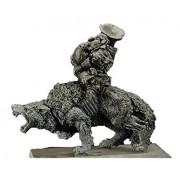 Gamezone Miniatures: Orcs & Goblins - Goblin Wolf Rider Musician (1)