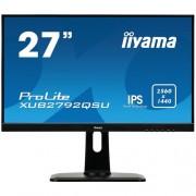 27'' LCD iiyama XUB2792QSU-B1 - IPS,5ms, 350cd/m2, 2560x1440,DVI,HDMI,DP,USB,výšk.nast.,repro