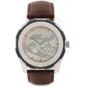 ADIXION 3099SLO28 New Stainless Steel watch with Genuine Leather Strep. Watch - For Men