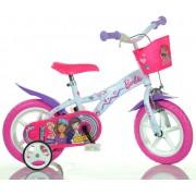 """DINO Bikes - Bicicletă pentru copii - 12"""" 612GLBA - Barbie 2018"""