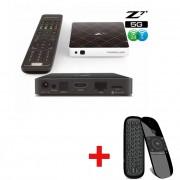 FORMULER Z7 + 5GHz VIT WIFI IPTV , Fjärrkontroll med mus och tangentbord
