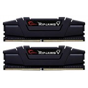 G.Skill Gskill F4-3200C16D-32GVK Memoria DDR4 RIPJAWS 5 Kit 2 x 16 GB, 3200 MHz, Color Negro