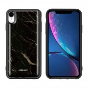 MOMAX Q.Power Pack for iPhone XR 5000mAh Magnetic Wireless Battery Charger Case - Marble Texture