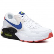 Chaussures NIKE - Air Max Excee CD4165 101 White/Hyper Blue/Bright Cactus