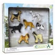 Set 7 figurine Caini Collecta, 3 ani+