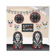 Vegaoo Día de los Muertos decoratie set One Size