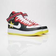 Nike air force 1 hi x riccardo tisci Gym Red/Optic Yellow/Black/White