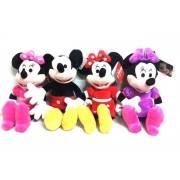 Set Minnie si Mickey Mouse plus muzical 30cm