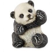 Schleich Panda Cub Playing Toy Figure