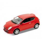 Auto 1:24 Welly ALFA MITO červená