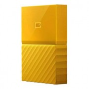 WD My Passport 4TB - USB 3.0 - Gul