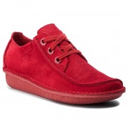 Обувки CLARKS - Funny Dream 261357274 Red Suede