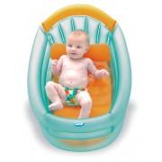 Cadita gonflabila Jane 40521 cu 3 pozitii pentru bebelusi