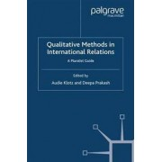 PALGRAVE MACMILLAN Qualitative Methods in International Relations