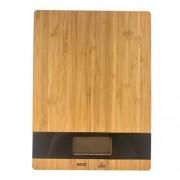 Orange85 Digitale bamboe keukenweegschaal 5kg