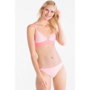 C&A Bikinislip, Roze, Maat: 36
