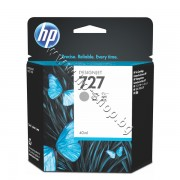 Мастило HP 727, Grey (40 ml), p/n B3P18A - Оригинален HP консуматив - касета с мастило