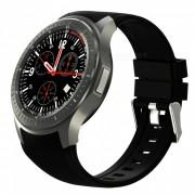 DOMINO DM368 1.39\ AMOLED MTK6580 Cuadrangulo 1.3GHz Smart Watch - Negro