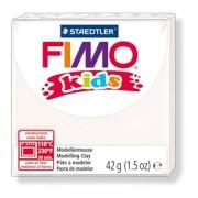Gyurma, 42 g, égethető, FIMO Kids, fehér (FM80300)